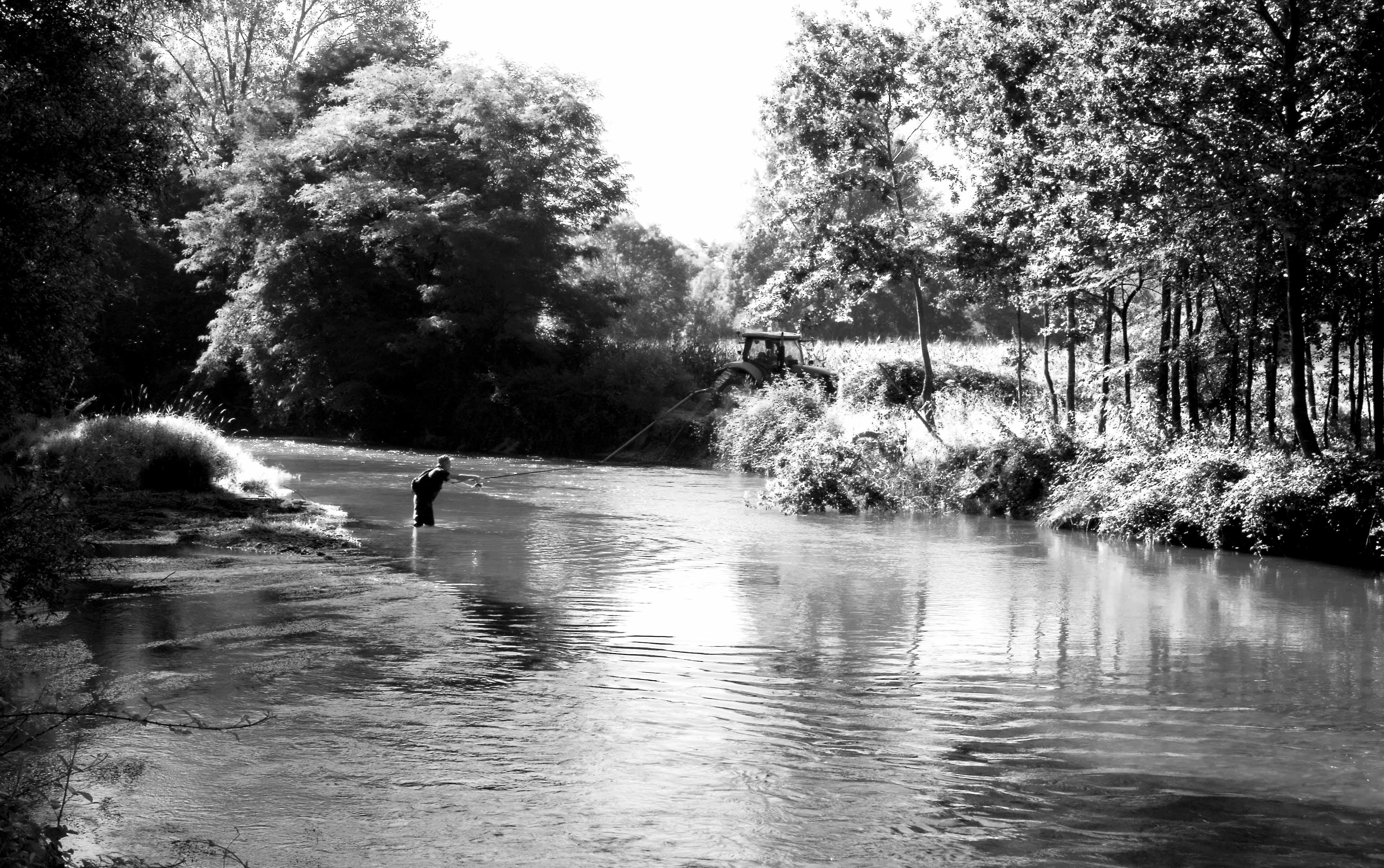 Pêche sur l'Adour